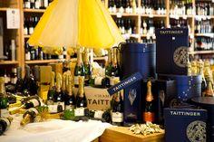 Champagne Taittinger at www.caros.co.nz