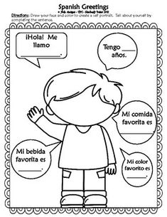 Hola SPANISH GREETINGS-Back to school activities, flash cards posters&game