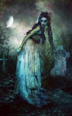Graveyard walker. #gothic #horror #darkness