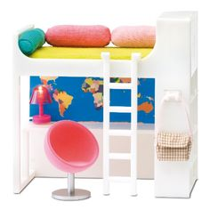 Smaland: bunk beds  from Lundby