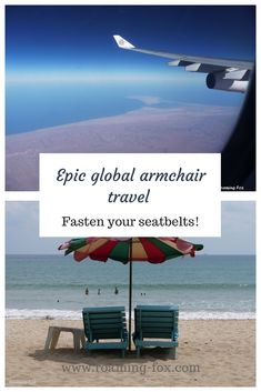Fasten your seatbelts for epic global armchair travel — Roaming Fox Rest Of The World, Travel Around The World, Around The Worlds, Virtual Travel, Virtual Tour, Travel Inspiration, Armchair, Travel Photography, Travel Articles