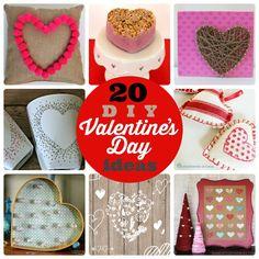 Great Ideas — 20 DIY Valentine's Day Ideas!