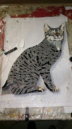 Mosacio Ariel Cadiz shared Mosaic Crafts, Mosaic Art, Mosaic Glass, Mosaic Tiles, Glass Art, Stained Glass, Mosaic Animals, Mosaic Pictures, Mosaic Madness