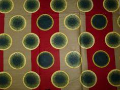 African Fabrics Java Wax Prints Sold By Yard by kitenge2012, £5.99