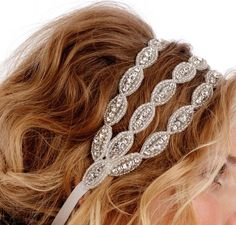 something new - Tiara's! Pretty Hairstyles, Wedding Hairstyles, Diy Schmuck, Bridal Hair, Wedding Headband, Wedding Dress, Bridal Beauty, Hair And Nails, Hair Inspiration