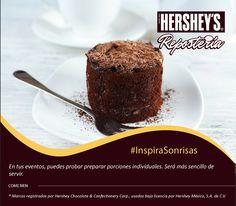 #InspiraSonrisas con Hershey's® Repostería. #Hersheys #Chocolate #InspiraSonrisas #Repostería #Postres #Receta #DIY #Bakery #Pastel