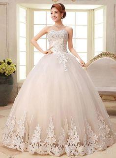 ericdress hübschen Schatz Appliques Ballkleid Brautkleid Hochzeitskleider 2015- ericdress.com 11288979