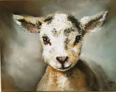 Lily the Lamb one of a series by Penny titled Farm Animals