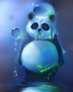 panda artwork. Beautiful