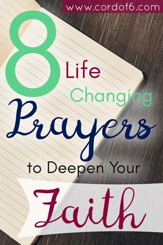 Follow Paul's example and pray these 8 Life Changing Prayers to Deepen Your…