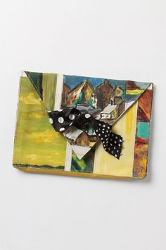 Original Still Life Clutch, Tree  $298.00  Crafted by affixing a vintage oil painting atop a repurposed canvas pouch, this handmade, one-of-a-kind clutch gives new life to a forgotten masterpiece. By Leslie Oschmann for Swarm.