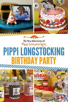 Aarlen's 3rd Birthday: Pippi Longstocking Pirate Party