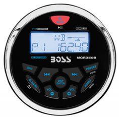 Radio MP3 Bluetooth Boss Marine GR 350 B. Reproductor MP3 Náutico circular con…