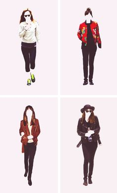 Dakota Johnson Outfits minimal posters. (Part 2)