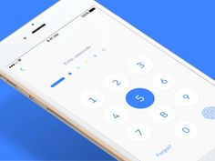 A new interaction design for the Monese app passcode entry.  Happy Friday everyone!
