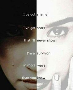 """I've got shame I've got scars that I'll never show I'm a survivor in more ways that you know."" from Warrior by Demi Lovato Lyric Quotes, Me Quotes, Tattoo Quotes, Humour Quotes, Dark Quotes, Demi Lovato Quotes, Im A Survivor, Abuse Survivor, Survivor Quotes"