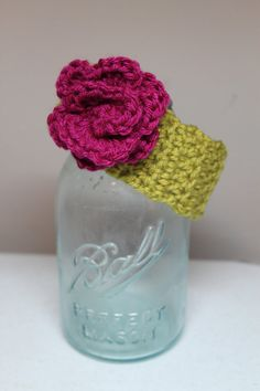 little girl crochet headband