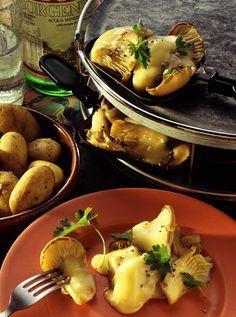 Pilz-Raclette | Zeit: 40 Min. | http://eatsmarter.de/rezepte/pilz-raclette