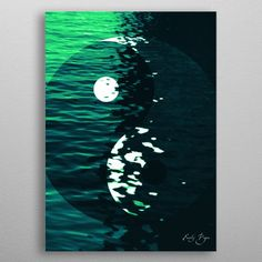 December Deal - Use code: SNOWMAN Buy 3-4 get 15% OFF   5+ 25% OFF. Yin Yang Creativity Poster by Emily Pigou. #yinyang #meditation #yoga #spiritual #yogagifts #calm #creativity #keepcalm #poster #home #homegifts #bachelor #modern #blue #livingroom #homedecor #gifts #family #discount #sea #deals #shopping #xmas #christmas #xmasgifts #photography #art #design #canvas #art #displate #sales #save #discount #giftsforhim #christmasgifts #giftsforher #39;s