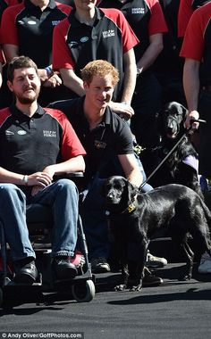 Prince Harry attends the Invictus Games photo call at Potters Field, London. A Paralympic style sporting competition for wounded service men and women launched by Prince Harry earlier this year.