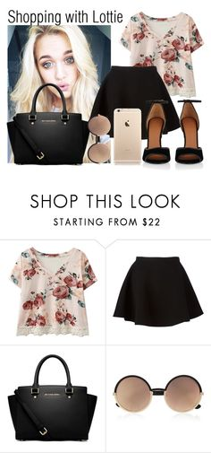 """""""Shopping with Lottie"""" by tommo-14 ❤ liked on Polyvore featuring Neil Barrett, MICHAEL Michael Kors, Marc by Marc Jacobs and Givenchy"""