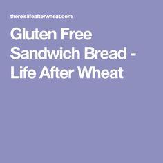 Gluten Free Sandwich Bread - Life After Wheat