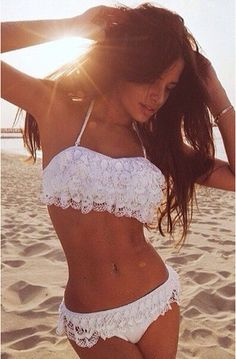 Delicate Crochet Lace Bikini Sets