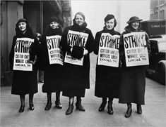 "Jewish involvement in organized labor, like the International Ladies' Garment Workers' Union, is one of the stories in ""The Jewish Americans."" Left, members of the garment workers' union in Chicago in 1935."