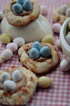 Pretzel Bird's Nest Cookies | Tasty Kitchen: A Happy Recipe Community!