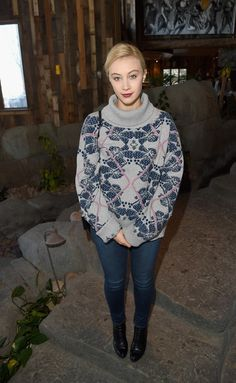 Sarah Gadon : Glamour's Women Rewriting Hollywood Lunch At Sundance Hosted By Lena Dunham, Jenni Konner And Cindi Leive - 2016 Park City