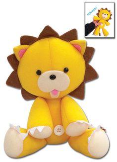 Official Licensed Anime Bleach Kon Squeaky Plush 87503 | eBay $11.99.  <3