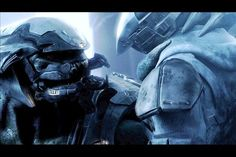 Gorgeous animation in one of the Halo games
