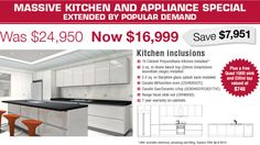 Massive Kitchen and Appliance Special