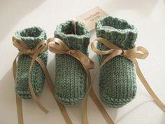 Sea green seafoam merino wool baby girl by TheBlueberryElephant, £19.99