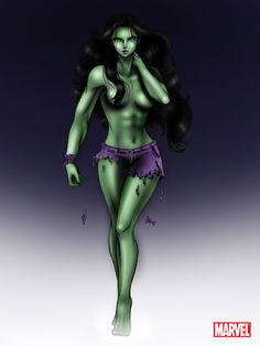 Avengers: Hulk Female by ~aerith0808