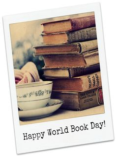 Happy World Book Day! Second Thursday of March, every year