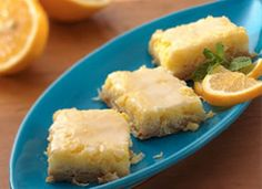 5-Star, Lemon and coconut bars made with Heart Smart Bisquick. Yum!