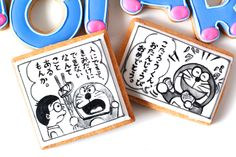 DORAEMON icing cookies.maga,comic,漫画,コミック