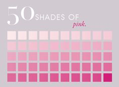 50 Shades of Pink Color Pink Color Chart, Pink Color Schemes, Colour Pallete, Muted Colors, Color Palettes, Pink Love, Cute Pink, Pretty In Pink, Pink Images