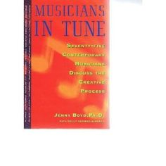 A unique book on musicians and the creative process.