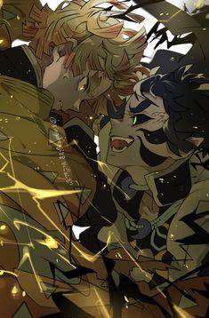 Manga Anime, Fanarts Anime, Anime Demon, Anime Characters, Demon Slayer, Slayer Anime, Film D'animation, Demon Hunter, Epic Art