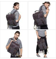 Rucksack Backpack, Laptop Backpack, Travel Backpack, Fashion Backpack, Canvas Laptop Bag, Canvas Backpack, Leather Briefcase, Leather Backpack, Work Handbag