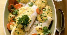 Probieren Sie den leckeren Seelachs überbacken auf Senfmöhren von EAT SMARTER oder eines unserer anderen gesunden Rezepte!