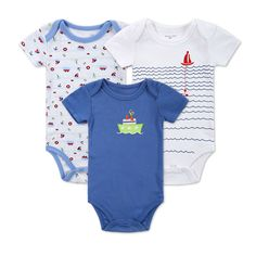 >> Click to Buy << 3 pcs / lot Luvable Friends Car Themed Baby Clothing Baby Bodysuits Short Sleeve Baby Boy Bodysuit Summer Baby Boy&Girl Jumpsuit #Affiliate