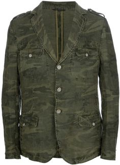 check out 1792c 8447b Men s Green Military Blazer