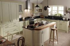 Betta Living - Alderley Cream & Sage (different colour for counters)