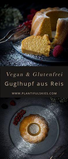 Vegan, Glutenfrei und dabei so locker und leicht: dieser Guglhupf aus Reis ist perfekt für Ostern oder jedes andere Event an dem du mit rein pflanzlichem Kuchen ohne Gluten überraschen willst.