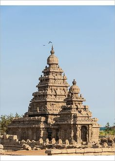 Inch Print - High quality print (other products available) - Shore Temple, Mahabalipuram, Kanchipuram, Tamil Nadu, India - Image supplied by Fine Art Storehouse - Photo Print made in the USA Temple India, Hindu Temple, Indian Architecture, Religious Architecture, Fine Art Prints, Framed Prints, Canvas Prints, Place Of Worship, Fantasy Landscape