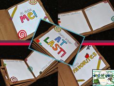 This is the cutest thing ever! Paper Bag Memory Book  End of Year Madness...{New Units!!!}