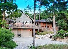 Hal Sea On: a 6 BR, 4 BA vacation rental next to Lake Michigan in downtown Glen Arbor. www.lvrrentals.com